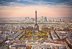 Изглед над Париж - пъзел