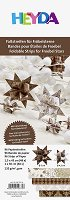 Хартия за оригами - Коледни играчки - Комплект от 96 ленти с размери 1 x 30 cm и 1.5 x 45 cm