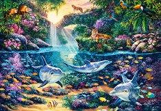 Рай в джунглата - Стив Рийд (Steve Read) - пъзел