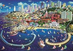 Заливът Сан Франциско - Александър Чен (Alexander Chen) -