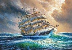 Плаване през буря - пъзел