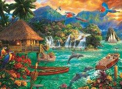 Островен живот - пъзел
