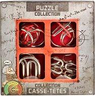 """Extreme Metal Puzzles - Комплект от 4 броя 3D пъзела от серията """"Casse-Tetes"""" -"""