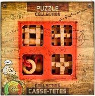 """Extreme Wooden Puzzles - Комплект от 4 броя 3D пъзела от серията """"Casse-Tetes"""" -"""
