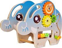 Лабиринт - Слонче - Детска дървена играчка -