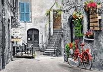 Алеята с червеното колело - пъзел