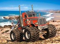 """Чудовищен камион на плажа - От серията """"Castorland: Premium"""" -"""