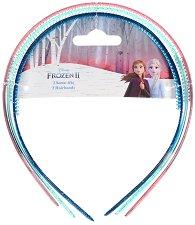 """Детски диадеми за коса - Frozen 2 - Комплект от 3 броя от серията """"Замръзналото кралство"""" - душ гел"""