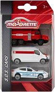 """Автомобили за спешна помощ - Комплект от 3 колички от серията """"SOS Cars"""" -"""