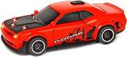 Dodge Challenger SRT Hellcat - Детска играчка със светлинни и звукови ефекти -