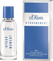 s.Oliver Your Moment Men EDT - Мъжки парфюм -