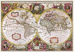 Карта на света от 1630 година -