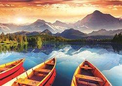 Планинско езеро -