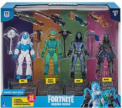 """Squad Mode - Комплект с 4 фигури и аксесоари от серията """"Fortnite"""" -"""