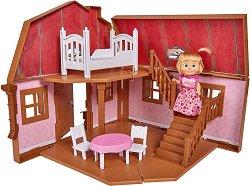 Двуетажна къща - Маша и Мечока - Детска играчка -