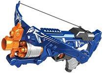 """Бластер арбалет - Комплект с 20 броя меки стрелички от серията """"Blaze Storm"""" - играчка"""