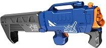 "Сгъваем бластер - Комплект с 20 броя меки стрелички от серията ""Blaze Storm"" - играчка"