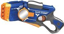 "Бластер с огледало - Комплект с 20 броя меки стрелички от серията ""Blaze Storm"" -"