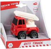 Пожарна кола - Детска играчка с маховик -