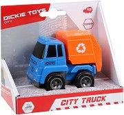 Боклукчийски камион - Детска играчка с маховик -