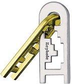 """Ключалка - 3D пъзел от серията """"Huzzle"""" -"""