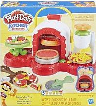 """Направи сам - Пица - Творчески комплект с моделин от серията """"Play-Doh: Kitchen"""" - творчески комплект"""