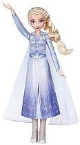 """Елза - Пееща кукла от серията """"Замръзналото кралство 2"""" - образователен комплект"""