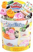 """Направи сам - Сладолед - Творчески комплект с моделин от серията """"Play-Doh: Kitchen"""" - творчески комплект"""