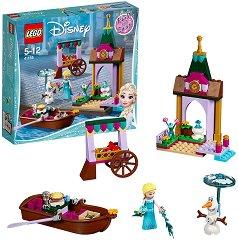 """Замръзналото кралство: Приключенията на Елза и Олаф - Детски конструктор от серията """"Принцесите на Дисни"""" - играчка"""