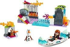 """Замръзналото кралство:  Експедицията на Анна - Детски конструктор от серията """"Принцесите на Дисни"""" - образователен комплект"""
