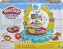"""Направи сам - Бисквитки - Творчески комплект с моделин от серията """"Play-Doh: Kitchen"""" - детски аксесоар"""