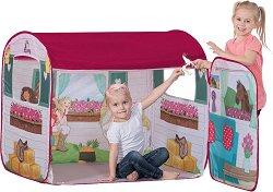 """Палатка - Horse Club - Комплект с оригинална фигурка на """"Schleich"""" - детски аксесоар"""