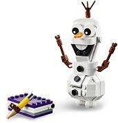 """Замръзналото кралство: Олаф - Детски конструктор от серията """"Принцесите на Дисни"""" - образователен комплект"""
