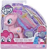 """Пинки Пай - Фризьорски салон - Комплект за игра с аксесоари от серията """"My Little Pony"""" - играчка"""