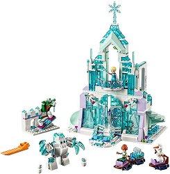 """Замръзналото кралство: Магическият леден дворец на Елза - Детски конструктор от серията """"Принцесите на Дисни"""" - образователен комплект"""
