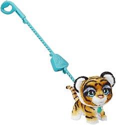 """Домашен любимец за разходка - Тигър - Детска играчка със звуков ефект от серията """"FurReal"""" -"""