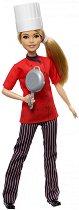 """Барби - Главен готвач - Кукла от серията """"Barbie - Искам да бъда"""" -"""