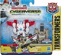 "Jetfire with Tank Cannon - Трансформиращ се комплект от серията ""Transformers  Cyberverse"" - играчка"