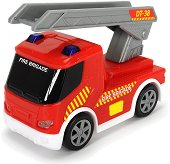 """Пожарен камион - Детска играчка със светлинни и звукови ефекти : От серията """"SOS"""" -"""