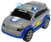 """Полицейска кола - Детска количка със светлинни и звукови ефекти и маховик : От серията """"SOS"""" -"""