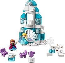 """Замръзналото кралство: Леден замък - Детски конструктор от серията """"LEGO Duplo"""" -"""