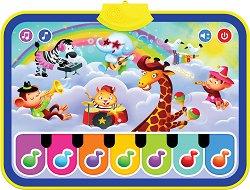 Музикално килимче - Весело пиано - Детска интерактивна играчка - играчка