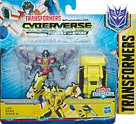 "Starscream with Demolition Destroyer - Трансформиращ се комплект от серията ""Transformers  Cyberverse"" -"