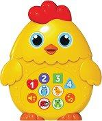 Бебета животни - Сладкото пиленце - Детска музикална играчка -