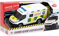 """Линейка - Iveco Daily - Детска играчка със светлинни и звукови ефекти от серията """"SOS"""" - играчка"""