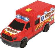 """Линейка - Chevrolet - Детска играчка със светлинни и звукови ефекти от серията """"SOS"""" -"""