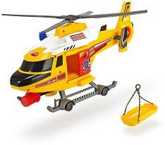 """Хеликоптер - Спасителен отряд - Детска играчка със светлинни и звукови ефекти от серията """"Action"""" -"""