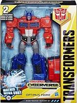 """Optimus Prime - Matrix Mega Shot - Трансформиращ се комплект от серията """"Transformers  Cyberverse"""" - играчка"""
