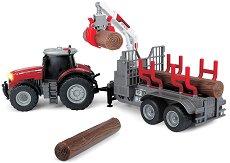 """Трактор - MF 8737 - Детска играчка със светлинни и звукови ефекти от серията """"Farm"""" -"""
