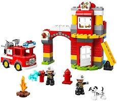 """Пожарна станция - Детски конструктор от серията """"LEGO Duplo"""" -"""